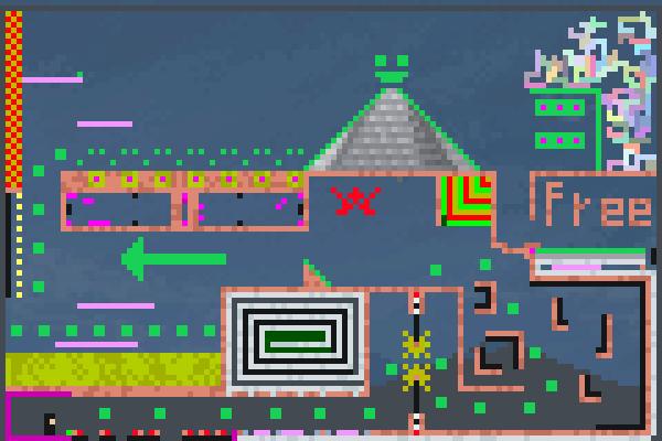 ninga traning Pixel Art