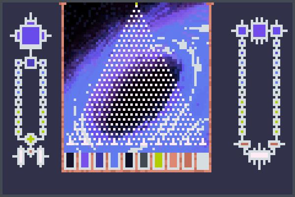 Aleatory color Pixel Art