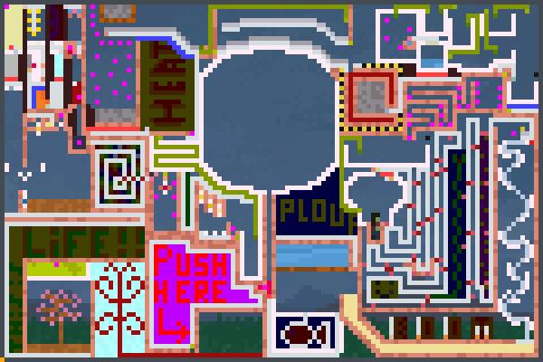 Mega chain Pixel Art