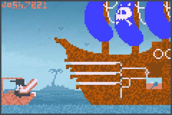 fire in da hole Pixel Art