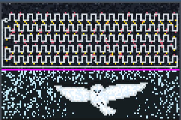 music hedwig Pixel Art