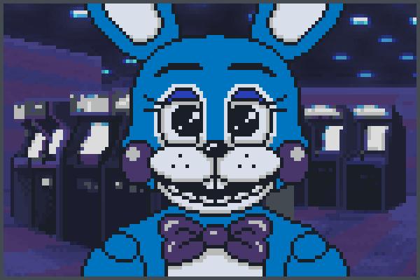 T.Bonnie FNAF 2 Pixel Art