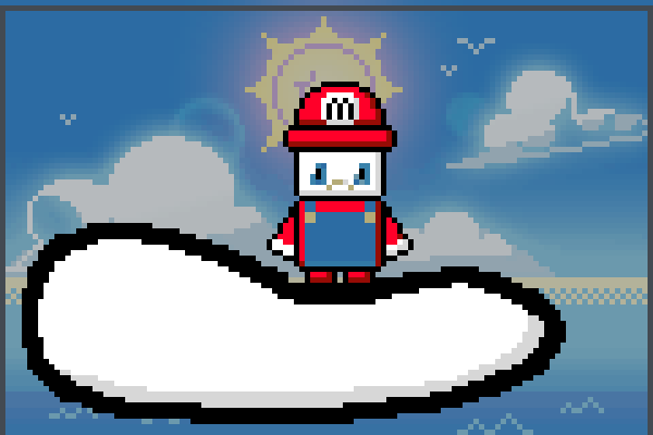 Preview Mario on Cloud World