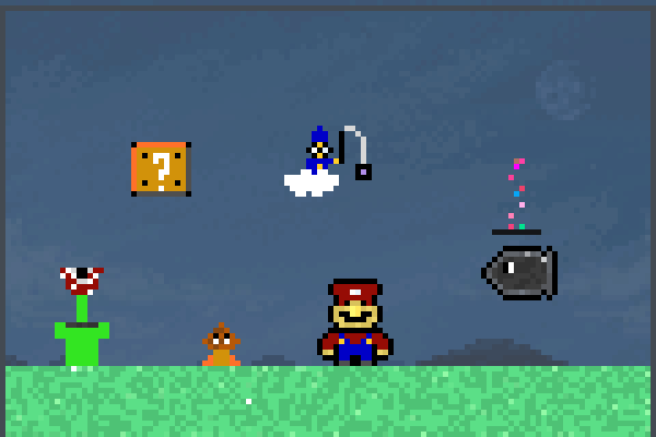 how to make a mario game in javascript