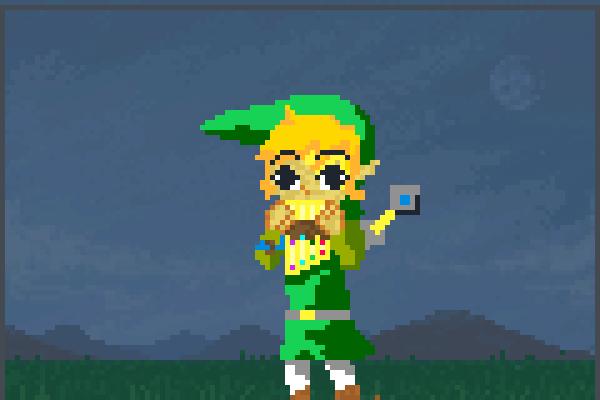 link power Pixel Art