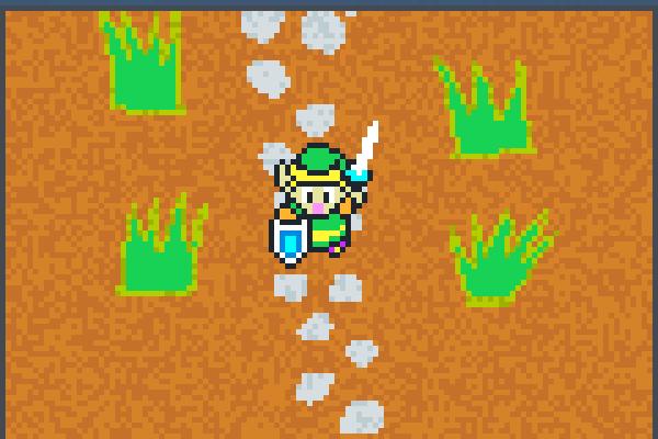 link adventure Pixel Art
