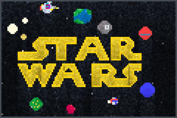 star wars Nenne Pixel Art