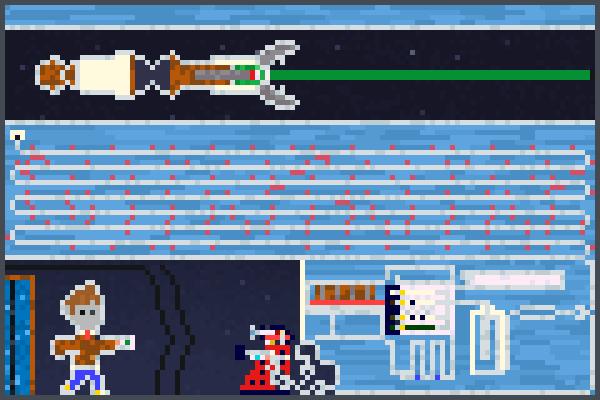 DR Who theme  Pixel Art