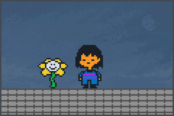 Preview Flowey andFrisk World
