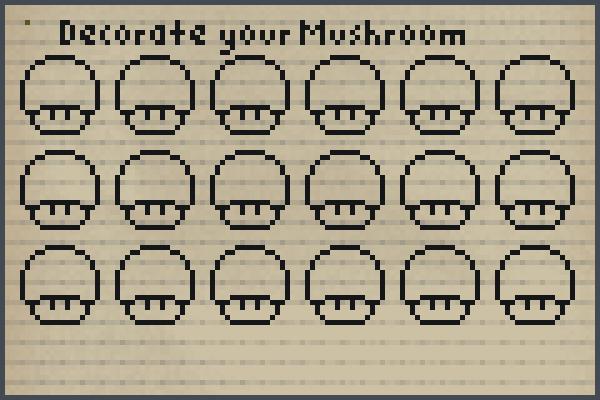 Preview add a mushroom, World