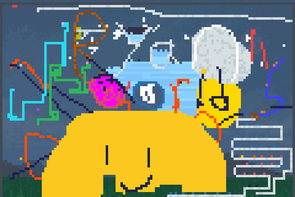 Ryan,s World Pixel Art