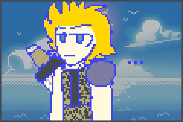 C L O U D Pixel Art