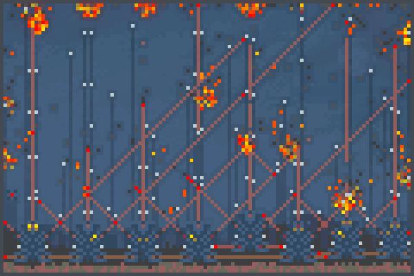 impossibel war Pixel Art