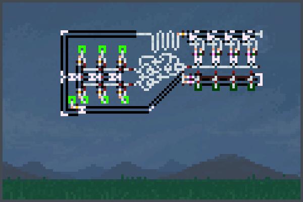 4b Adder v1 Pixel Art