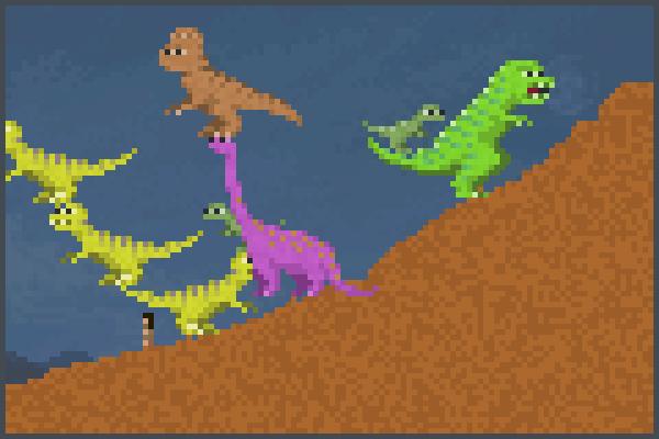 zhuluojifongyua Pixel Art
