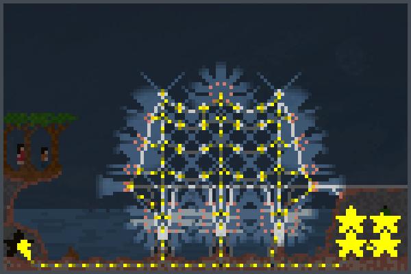 Musterlicht Pixel Art