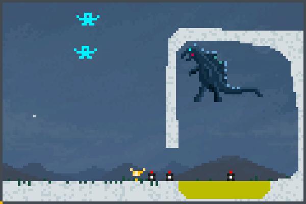 o distruidor   Pixel Art
