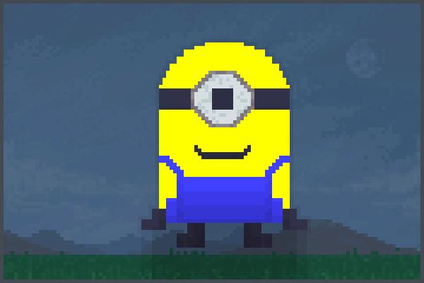 pixel minion Pixel Art