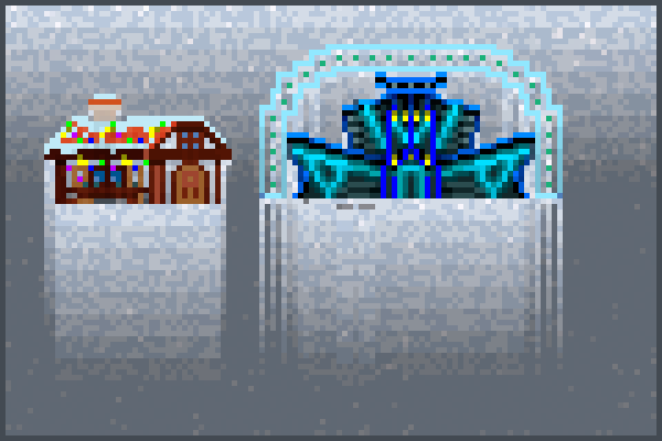 precious stone Pixel Art