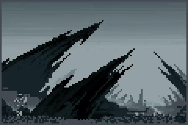 the dead plant Pixel Art
