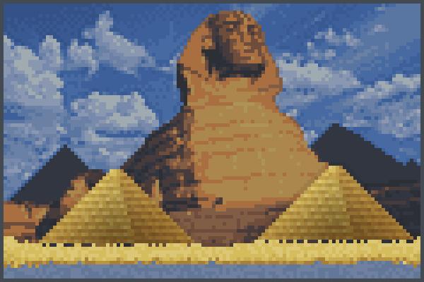 the Egypt Pixel Art