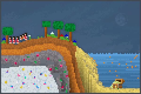 Gem Grove Pixel Art