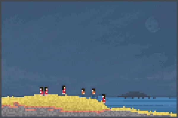 plage 1 Pixel Art