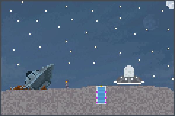T Space Pixel Art
