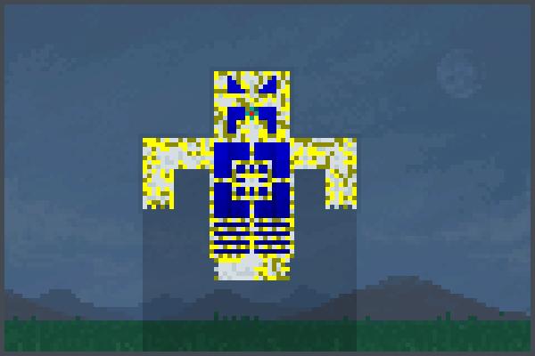 Braniac robot!! Pixel Art