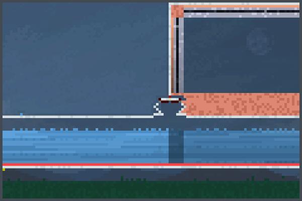 Steam Ray Pixel Art