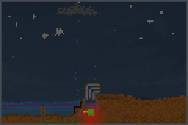 nuke reacc Pixel Art