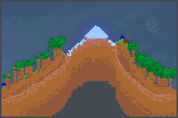 The mountain l Pixel Art