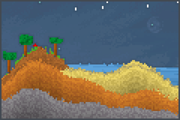 Calm Weather Pixel Art