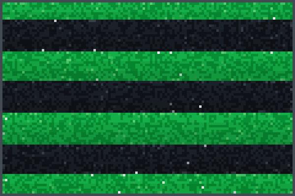 Yeet green blac Pixel Art