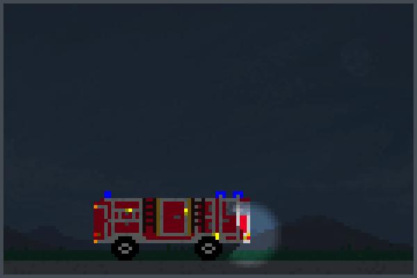 Feuerwehr8 Pixel Art