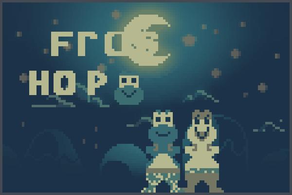frog hop Pixel Art