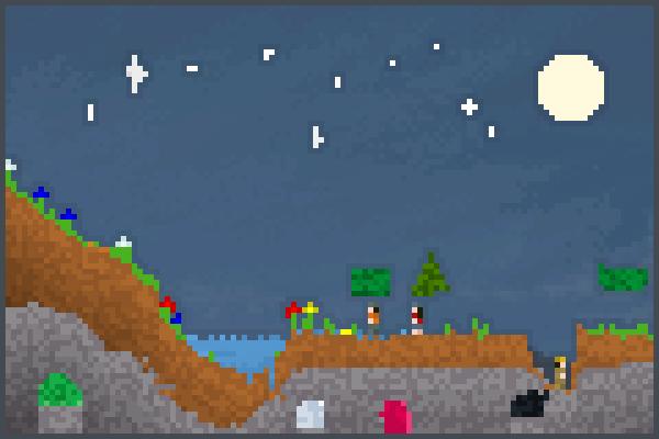 my world v2 Pixel Art