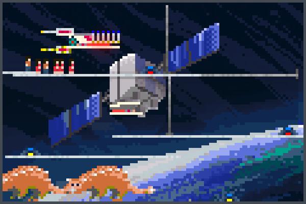 techspace Pixel Art