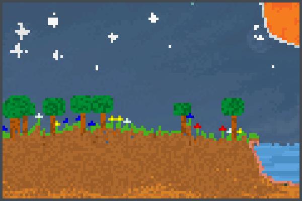 El Bello Mundo Pixel Art