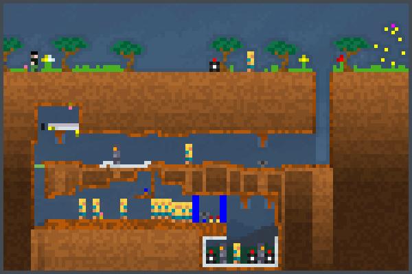 Cavern Man Pixel Art