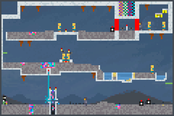 R.B Jewel Man Pixel Art