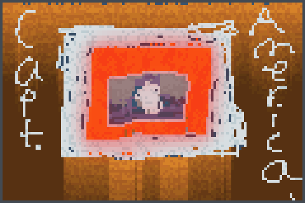 capt. america Pixel Art