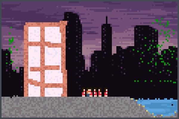 City WasHGamer Pixel Art
