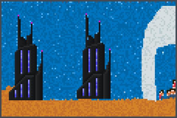 promising stuff Pixel Art