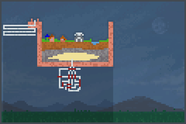 Block The Bomb! Pixel Art