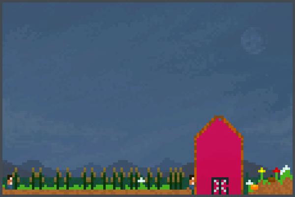 a fun farm Pixel Art