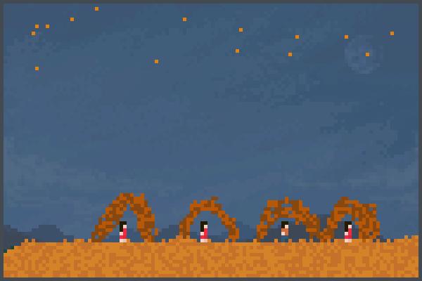 el metiorito Pixel Art