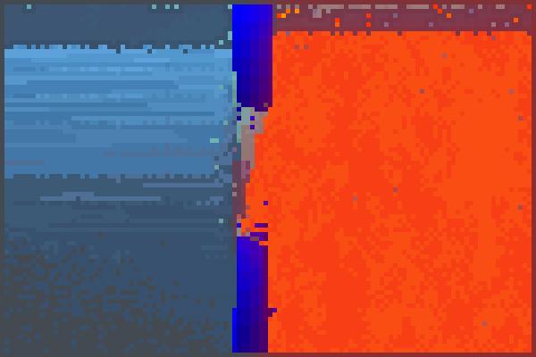 lava win show Pixel Art