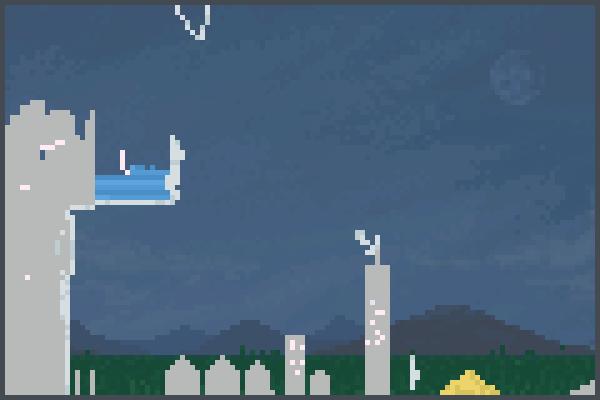 ciudad de cera Pixel Art