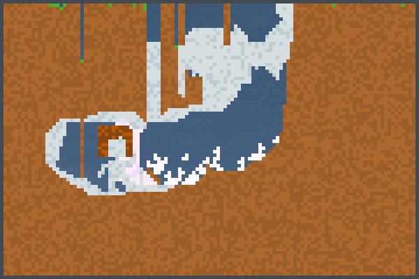 ciudad conejo Pixel Art